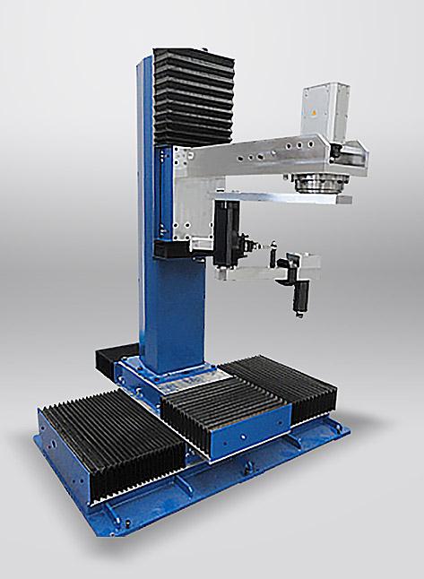 Getaktete Rundtischanlage mit Poliergruppe CNCL für tiefgezogene Behältnisse wie z.B Küchenspülen u.a.